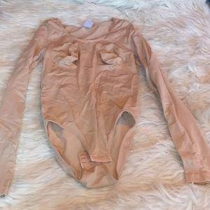 Full spandex body suit sz M